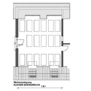 Kleiner Seminarraum (75m²)