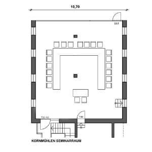 Kornmühlen Seminarraum (100m²)